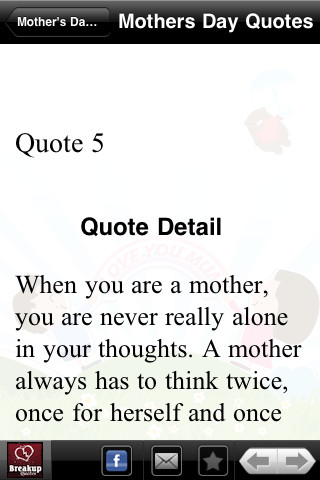 Famous Mother`s Day Quotes 1.1
