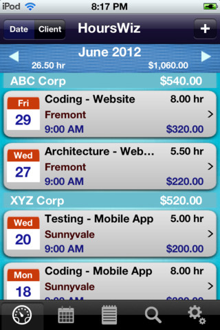 HoursWiz Pro - Time Tracker & Time Sheet