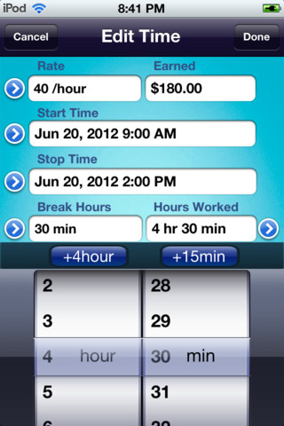HoursWiz Pro - Time Tracker & Time Sheet