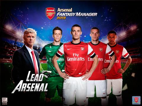 Arsenal Fantasy Manager 2013