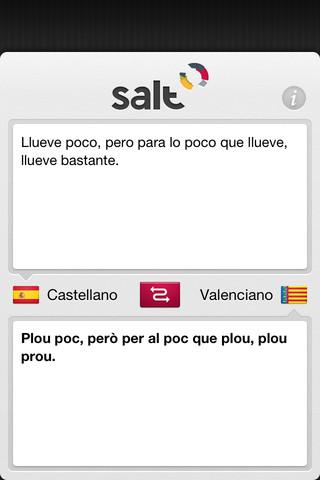 Traductor Valenciano - Salt traductor