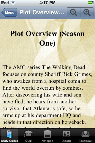 The Walking Dead Companion App