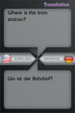german tranlator: