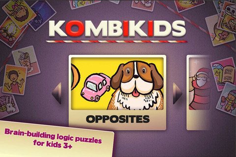 KombiKids Opposites - Brain-building, Matching, Early Logic for Kids 3+