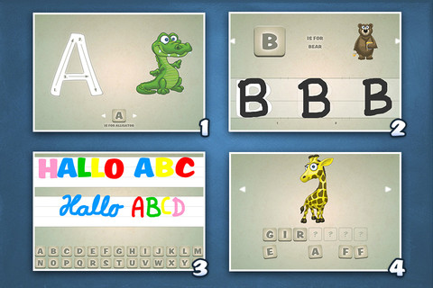 Playground HD3 - ABC Edition. The kids app to learn how to write letters.
