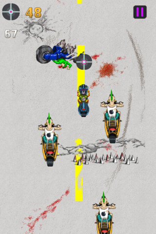 Motorcycle Death Race Free - by Free Top Hat Games
