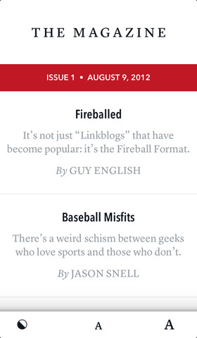 The Magazine: For geeks like us. 1.0.1