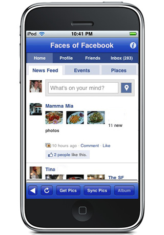 Easy Download for Facebook, download Profile Pictures and Albums to your iPhone and Sync your Contacts Photos, aka Faces For Facebook