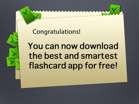 Smart Flashcards Lite - Free Smart Way to Create Flashcards flashcards free