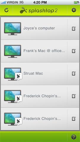 Splashtop 2 - Remote Desktop for iPhone & iPod