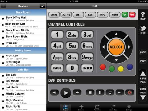 K4D program directv remote
