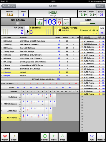 NxCricket-hd - Cricket Score Book