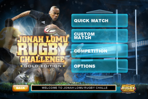 Jonah Lomu Rugby Challenge: Mini Games
