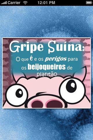 GRIPE SUÍNA (Gripe A - H1N1): O que é e os perigos para os BEIJOQUEIROS de plantão. by Evandro windows os wiki