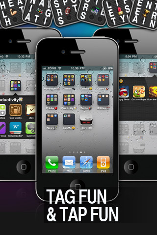 tagfolder paint ios folder app for ipad iphone. Black Bedroom Furniture Sets. Home Design Ideas
