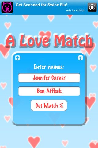love compatibility. A Love Match: Compatibility Calculator 2.0