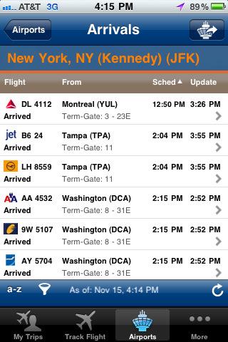 FlightView Elite - Real-Time Flight Tracker, Flight Boards and Airport Delay Status icelandair flight status