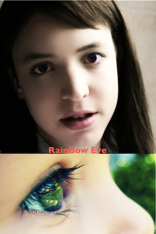 Magic Eye Color Effect Free-Color Contact Lens,Red Eye Remover.