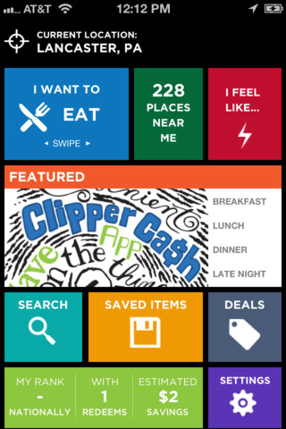 clipper cash local coupons 1 3 5 app for ipad iphone finance app