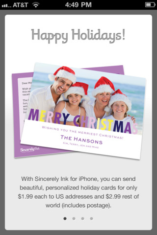 Holiday Cards by Sincerely Ink: Christmas, New Year & Hanukkah cards too!