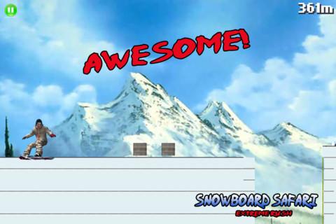 Snowboard Safari: Extreme Rush