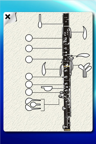 Oboe Flash Cards