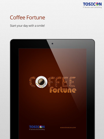 Coffee Fortune 2 Free for iPad - Get lucky fortunes or quotes coffee quotes