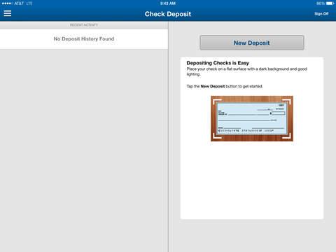 North American Banking Co Mobile iPad north american