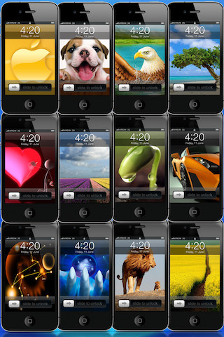 iLockScreens - Customize My Lock Screens & Set My Home Screens portable screens