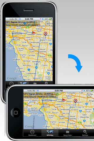Location Tracking GPS Lite for iOS 4