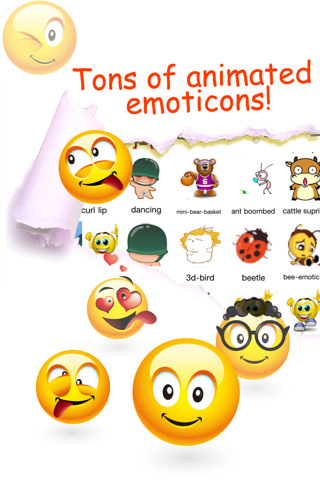 Animated Emoticons™ for MMS Text Message, Email!!!(FREE) 2.9.7