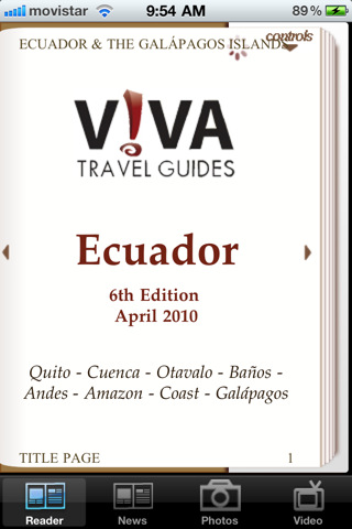 Ecuador - VIVA Travel Guides Ecuador & Galapagos Islands Guidebook ecuador newspapers