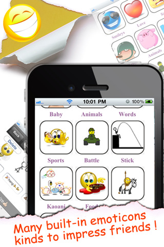 Animated Emoticons™ for MMS Text Message, Email!!!(FREE)