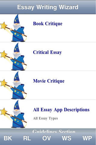 Critical Writing MAX (4 apps in 1) by Essay Writing Wizard App for ...