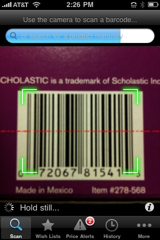 Shop Savvy Barcode Scanner 6.0.0