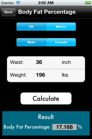 calculate weight percentage loss