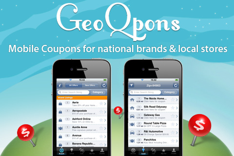 GeoQpons - Coupons and Shopping Discounts