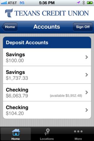 Texans Credit Union Mobile