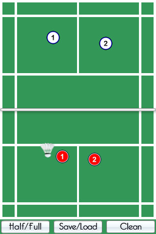 badminton coach how to clear