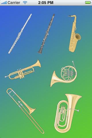 Large Woodwind Instrument  Letters