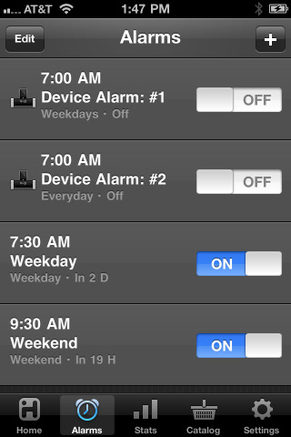 iHome+Sleep, the alarm clock app from the experts on alarm clocks