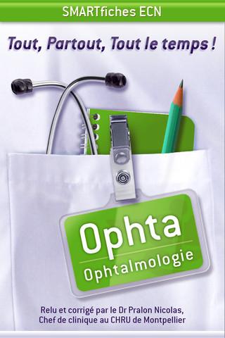 SMARTfiches Ophtalmologie Free