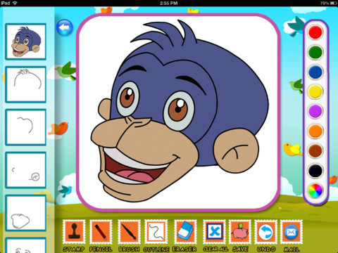 Download Draw & Color Chhota Bheem and his Friends iPad iOS