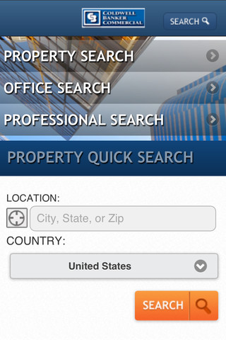 Coldwell Banker Real Estate on Coldwell Banker Commercial Real Estate 1 0 App For Ipad  Iphone
