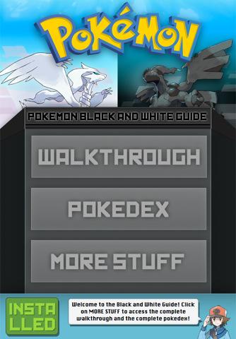 Pokemon Black And White Game Guide. Pokemon Black and White App