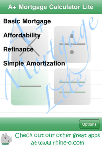 A+ Mortgage Calculator Lite getregionalcash refinance