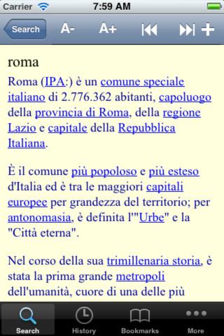 Italiano Wikipedia Offline / Wikipedia in Italian