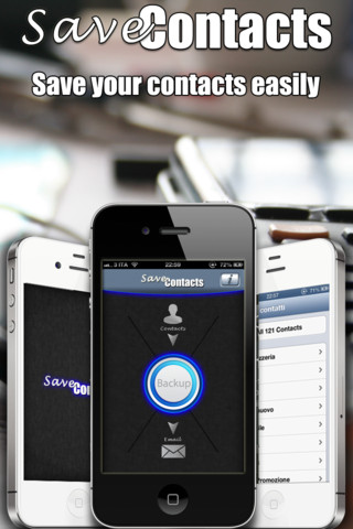 Save Contacts (My Contacts Backup)