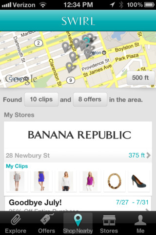 Swirl - Shopping for Fashion and Style at Nearby Stores