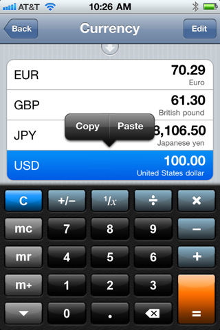 Converter Plus (iPhone/iPod touch) [free]